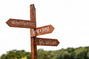 rustic wedding directions