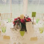 folk festival wedding table setting