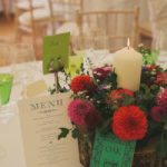 folk festival wedding menu