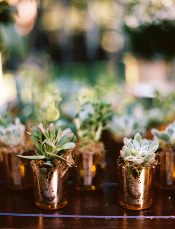 copper trend wedding decor details