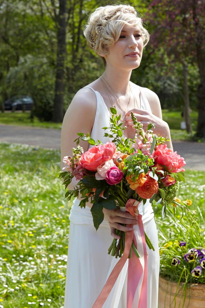 Myrtle & Smith peony bridal bouquet