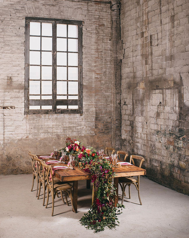 Autumn Meets Urban – how to style an Autumn wedding