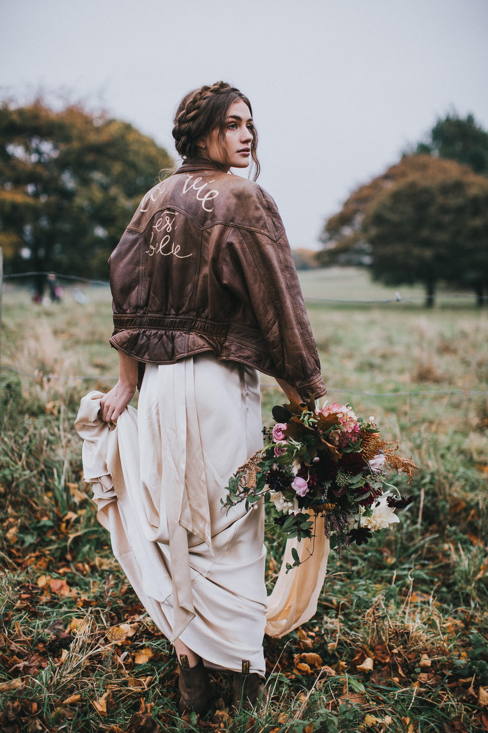 Autumn Wedding Bride