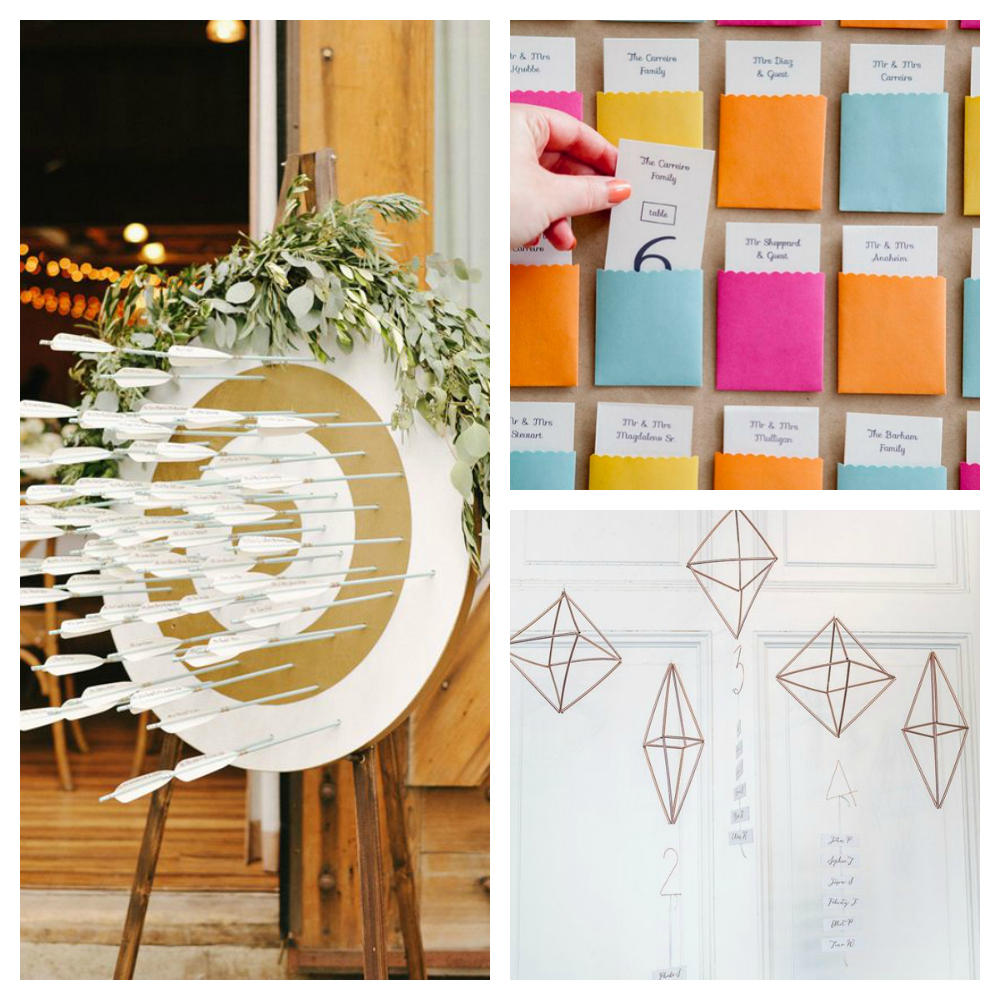 wedding details seating plans ideas