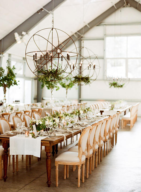 Edgy Lighting Ideas for Your Wedding Metalwork
