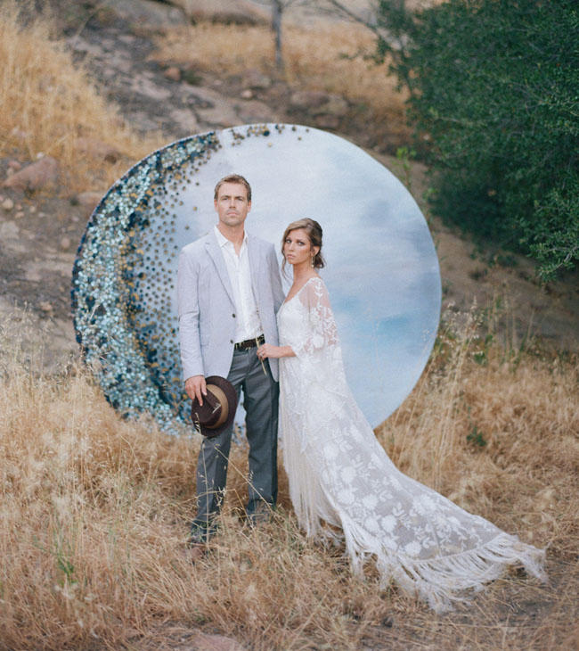 celestial wedding ideas alfresco styling idea