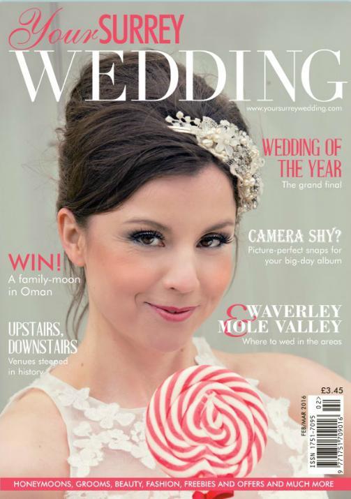 Featured in Surrey Wedding