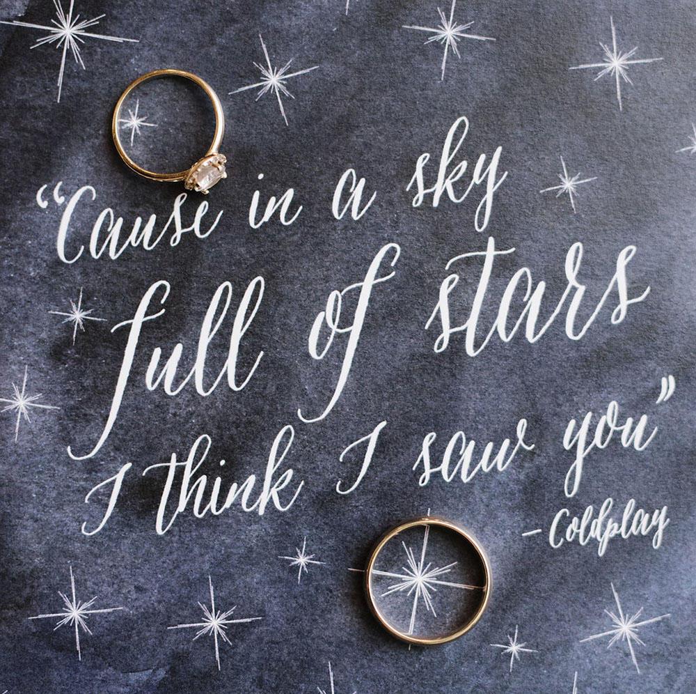 Starry Eyed Celestial Wedding Ideas Carmela Weddings And Events