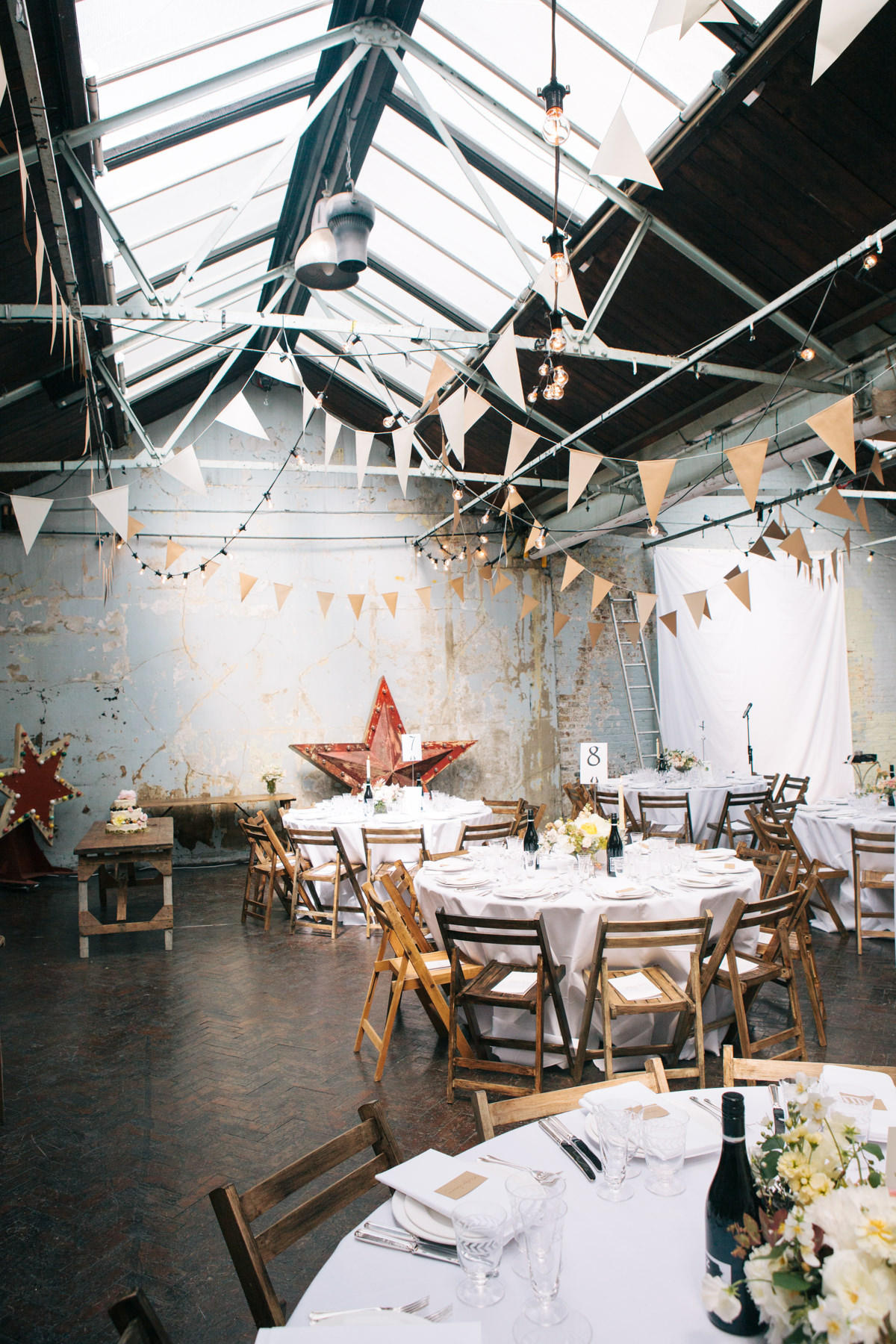 London Wedding Planner urban venue interior