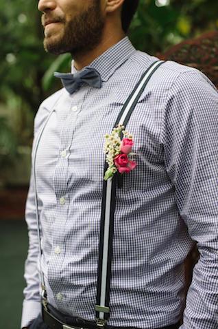 Groomswear Trends Braces Styling