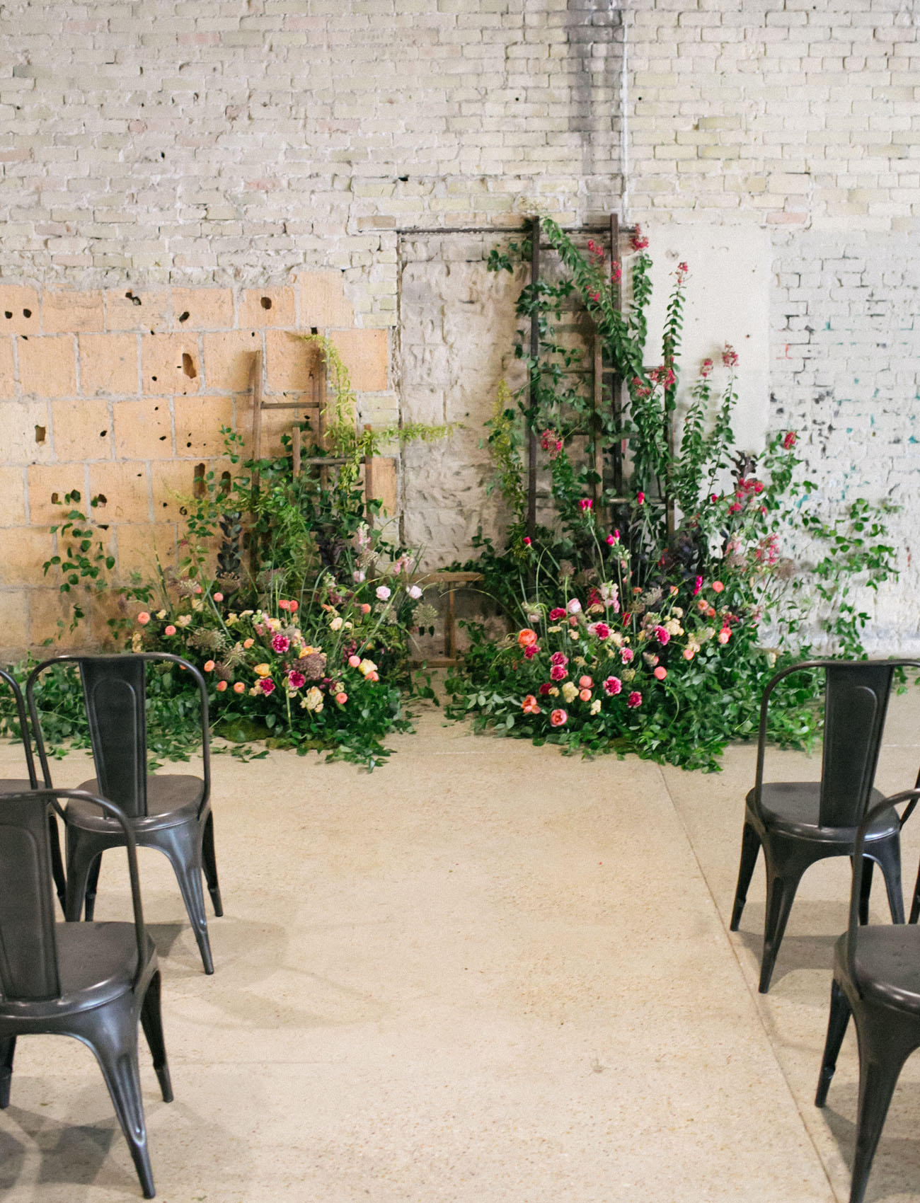 romantic industrial ceremony