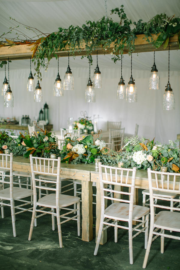 Edgy Lighting Ideas for Your Wedding effective vintage
