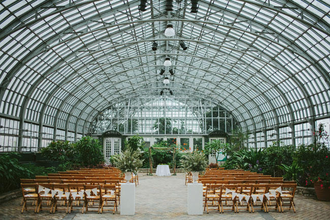 Greenhouse Wedding Layout