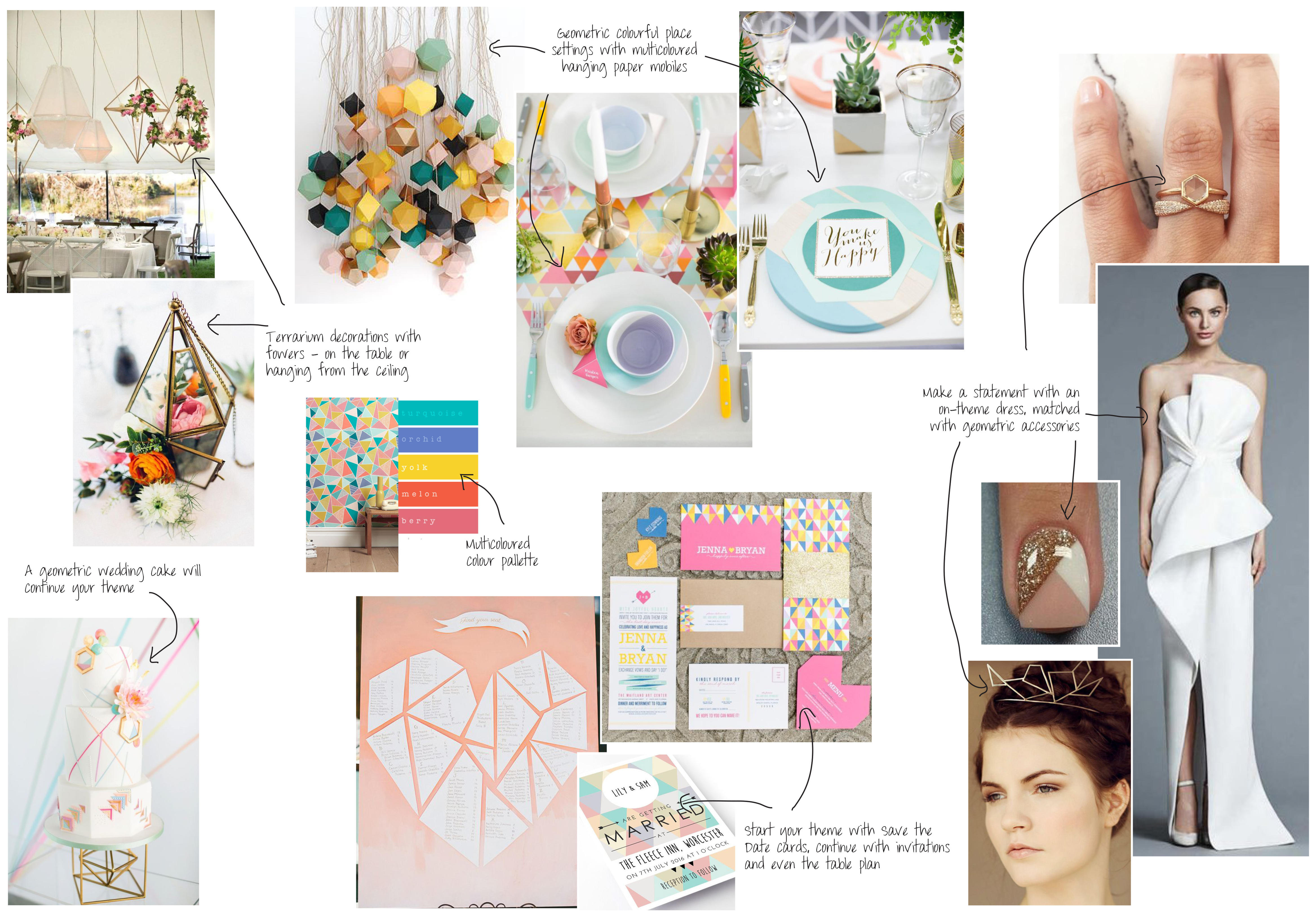 Moodboard Of The Month – Let's Talk Geometry!
