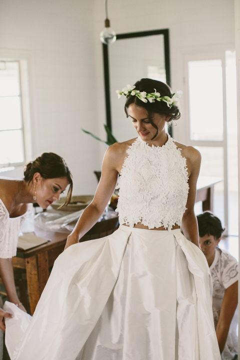 Bridal Separates all white
