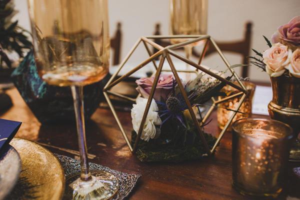 celestial wedding ideas display styling