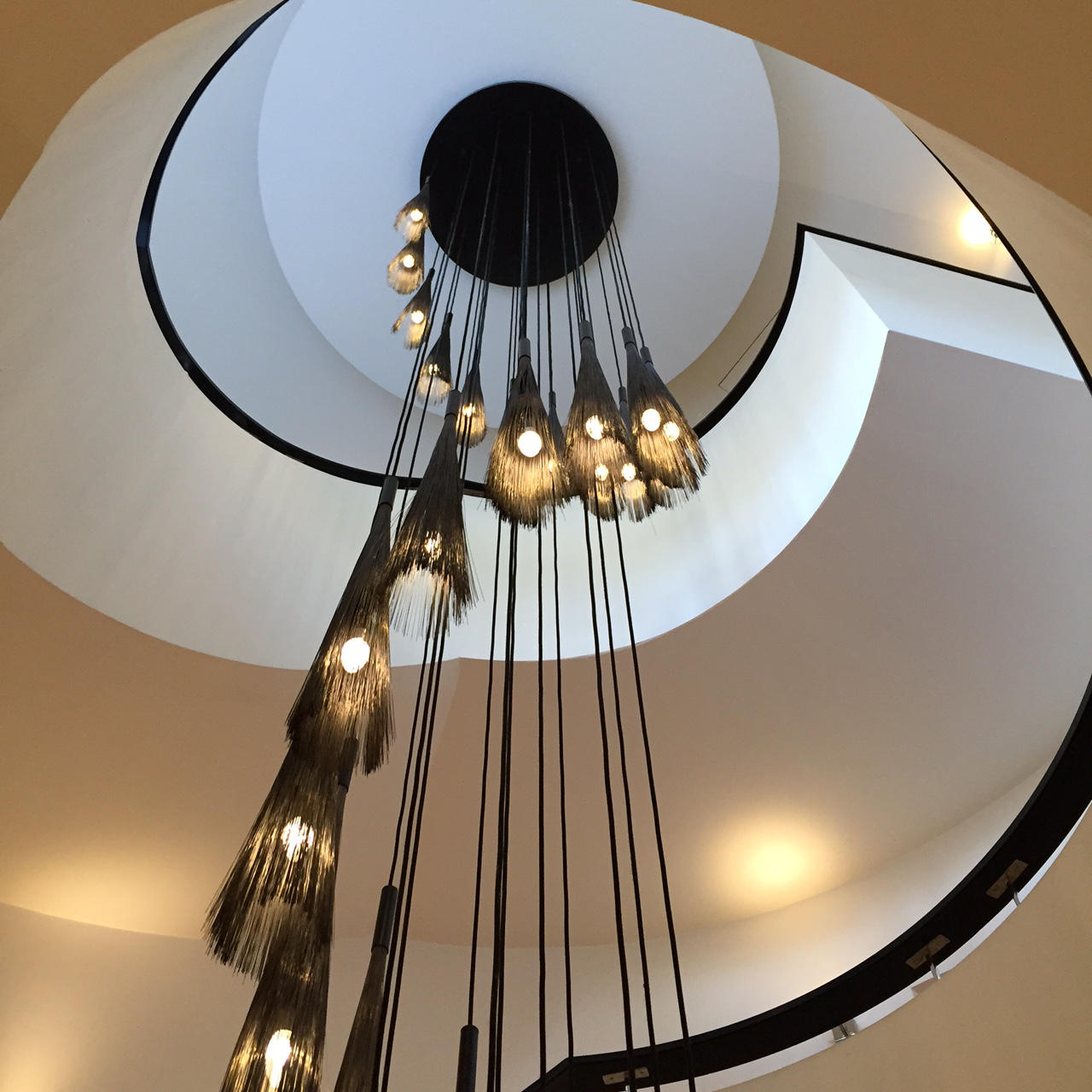 The Grove Hotel modern Lighting Feature