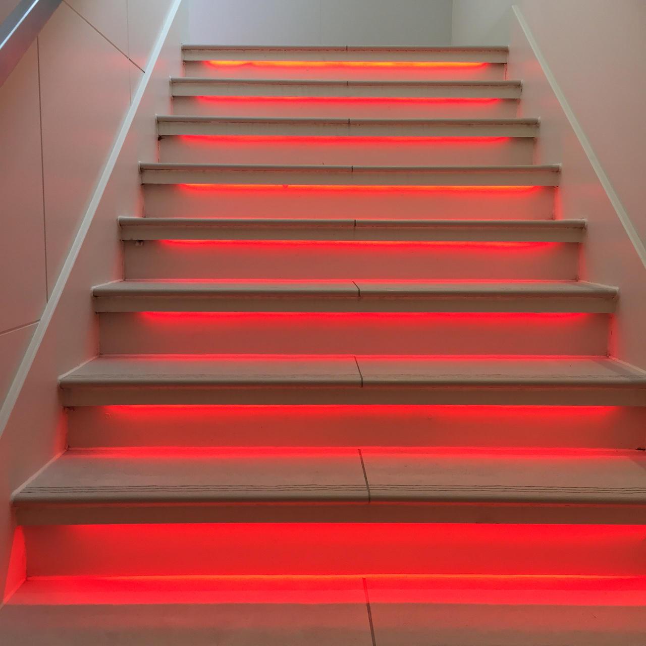 The Grove Hotel Illuminated Stairway