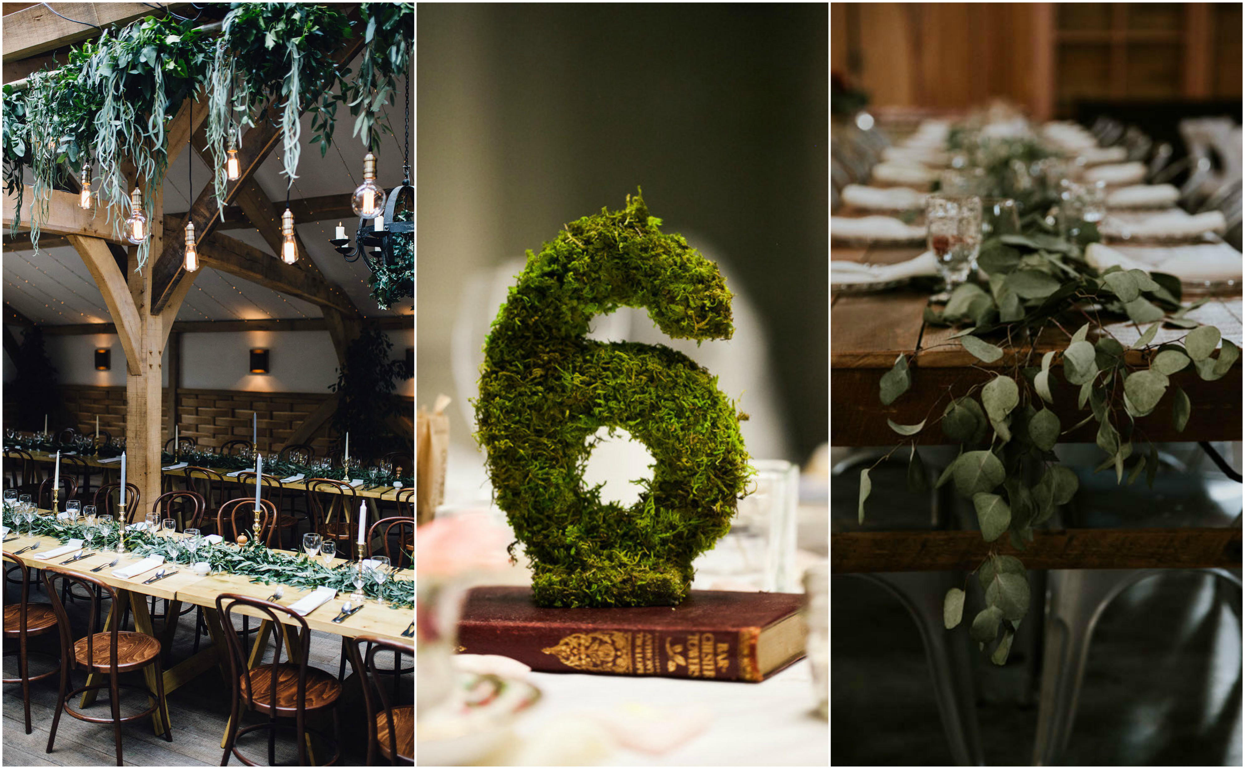 rustic vibes wedding table styling