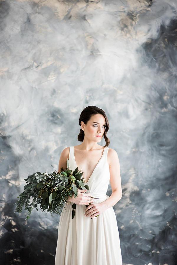 Dark Stormy Bridal Background