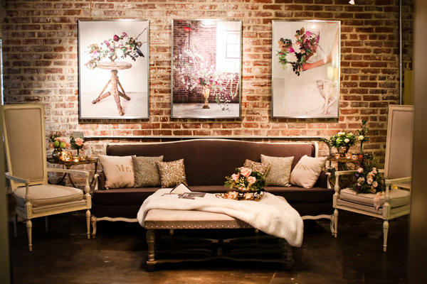 Classic Wedding Lounge Area Styling