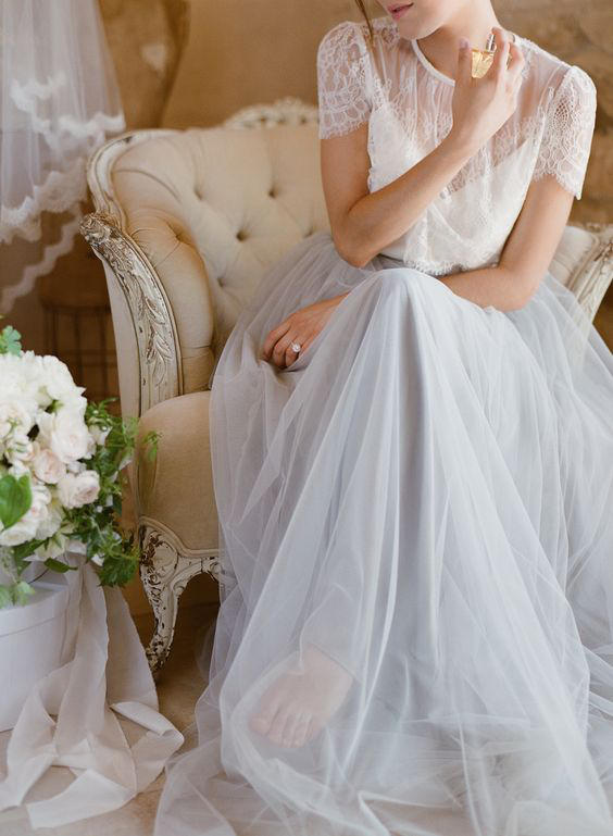 Bridal Separates classic romantic