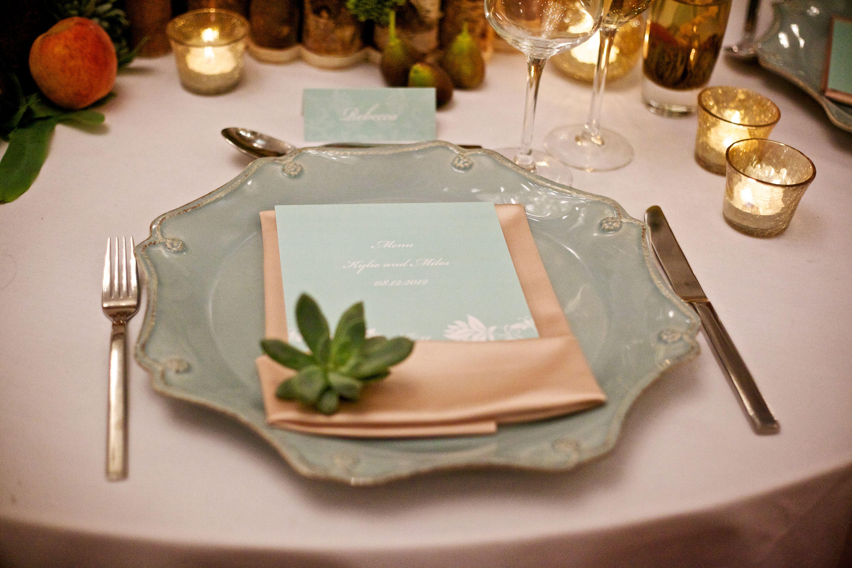 greenery inspired wedding stationery