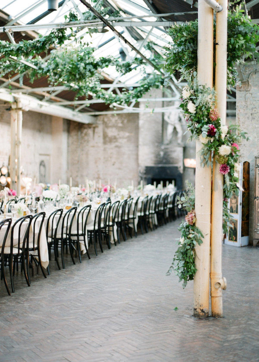 Rustic Urban Wedding Styling