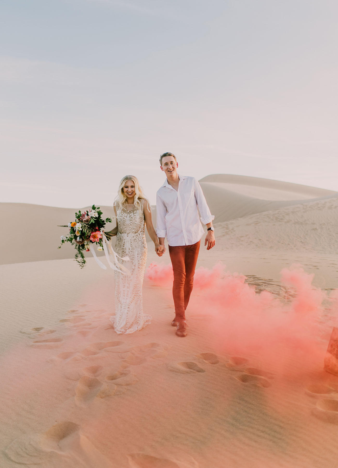 Coachella Festival Wedding in the desert