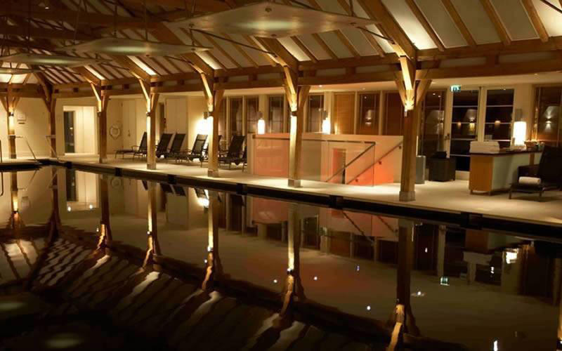 The Grove Hotel Pool Area