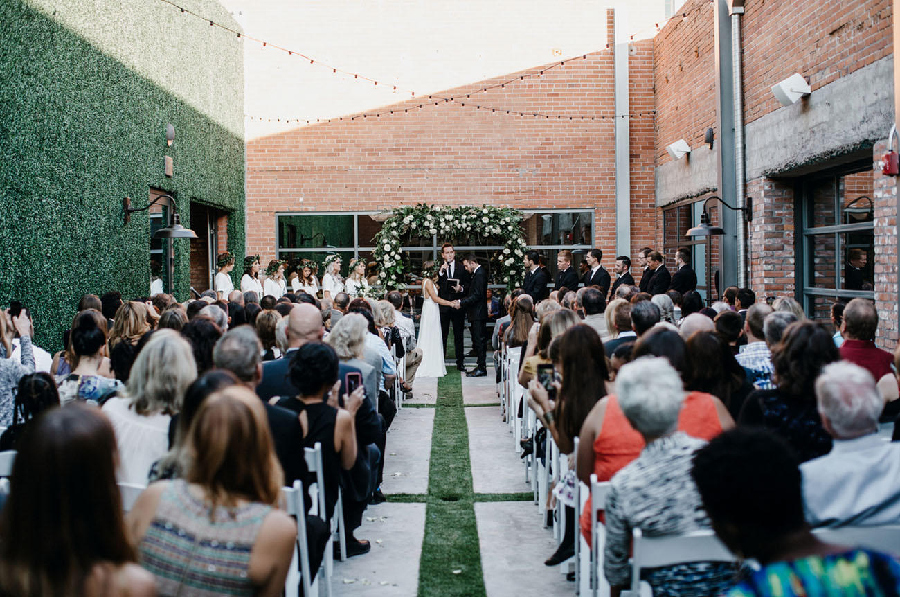 Urban Al Fresco Wedding