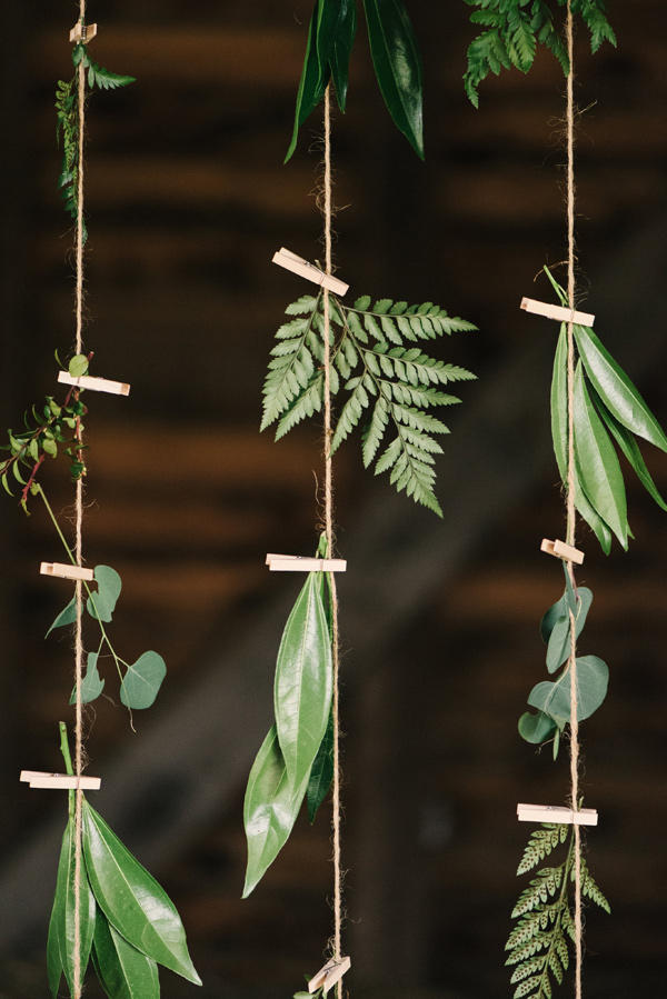 forest green wedding style idea