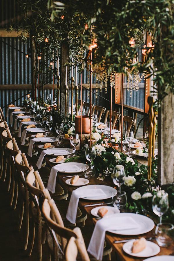 wedding trends edgy industrial