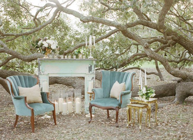 Al Fresco Wedding Lounge Area