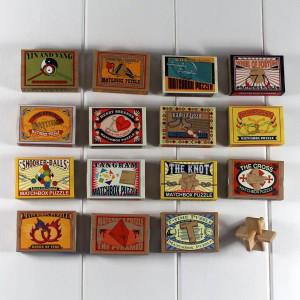 Favour - Wooden Matchbox Puzzles by Nest