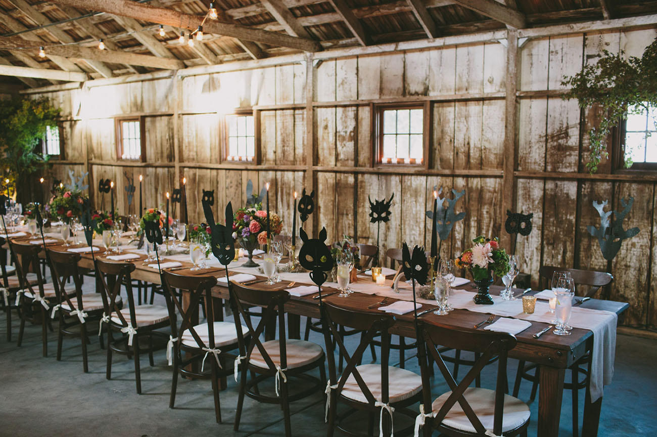 Urban Boho Wedding table styling