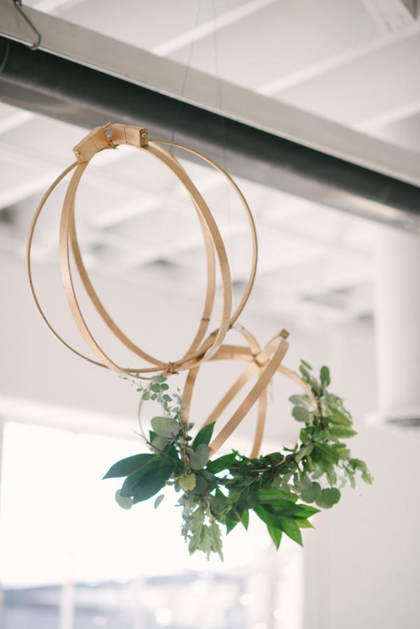 winter wedding styling idea
