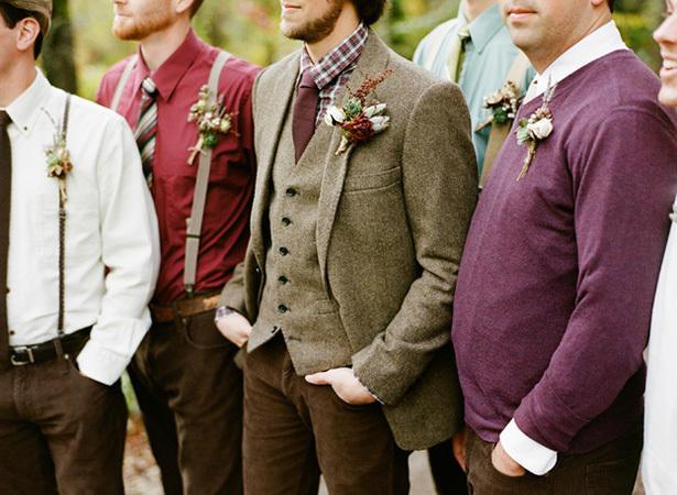 Groomswear Trends Rich Colours