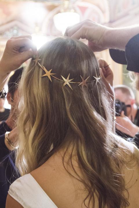 celestial wedding ideas hair