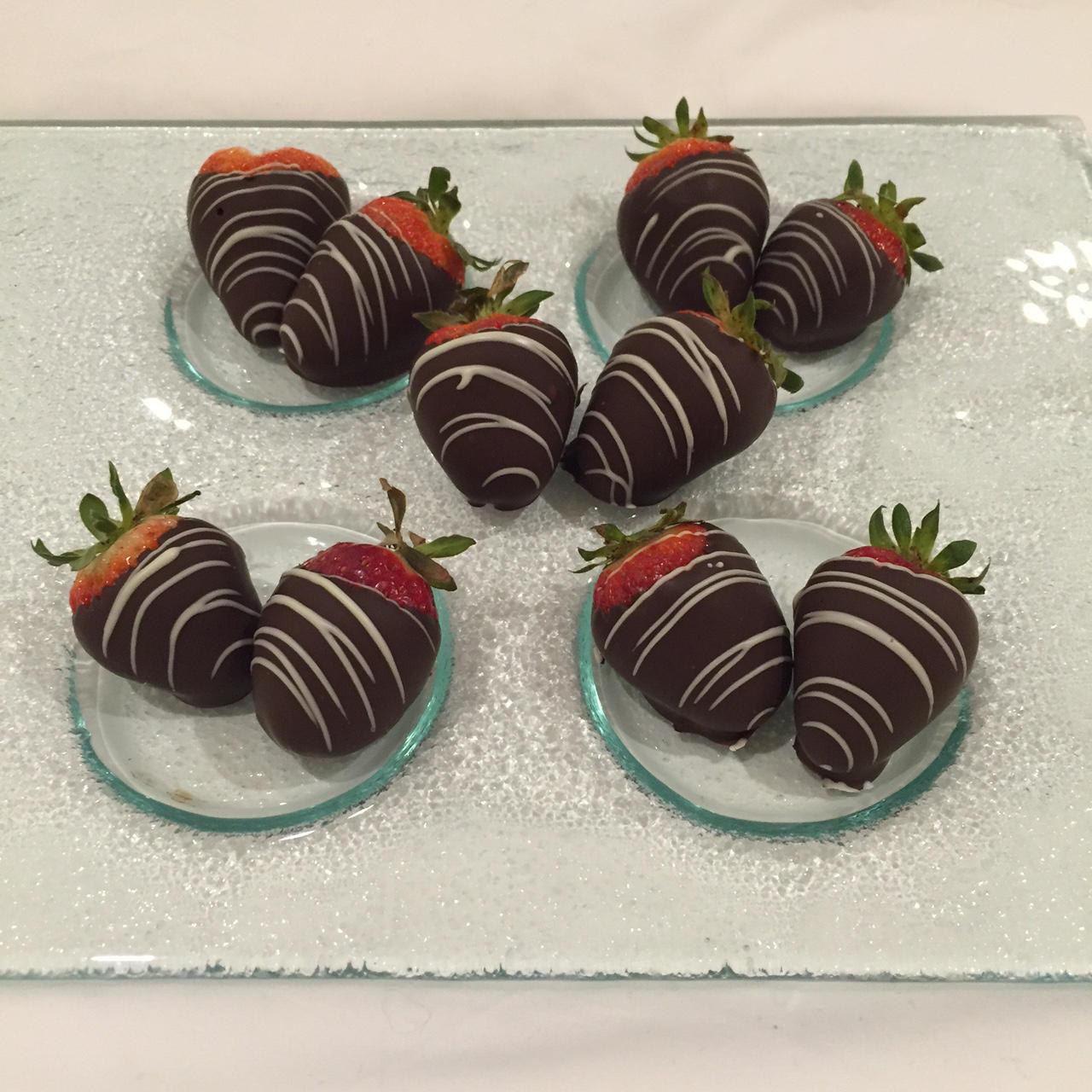 The Grove Hotel Chocolate Strawberries