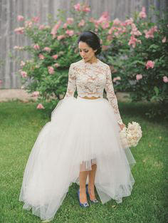 Bridal Separates styling idea