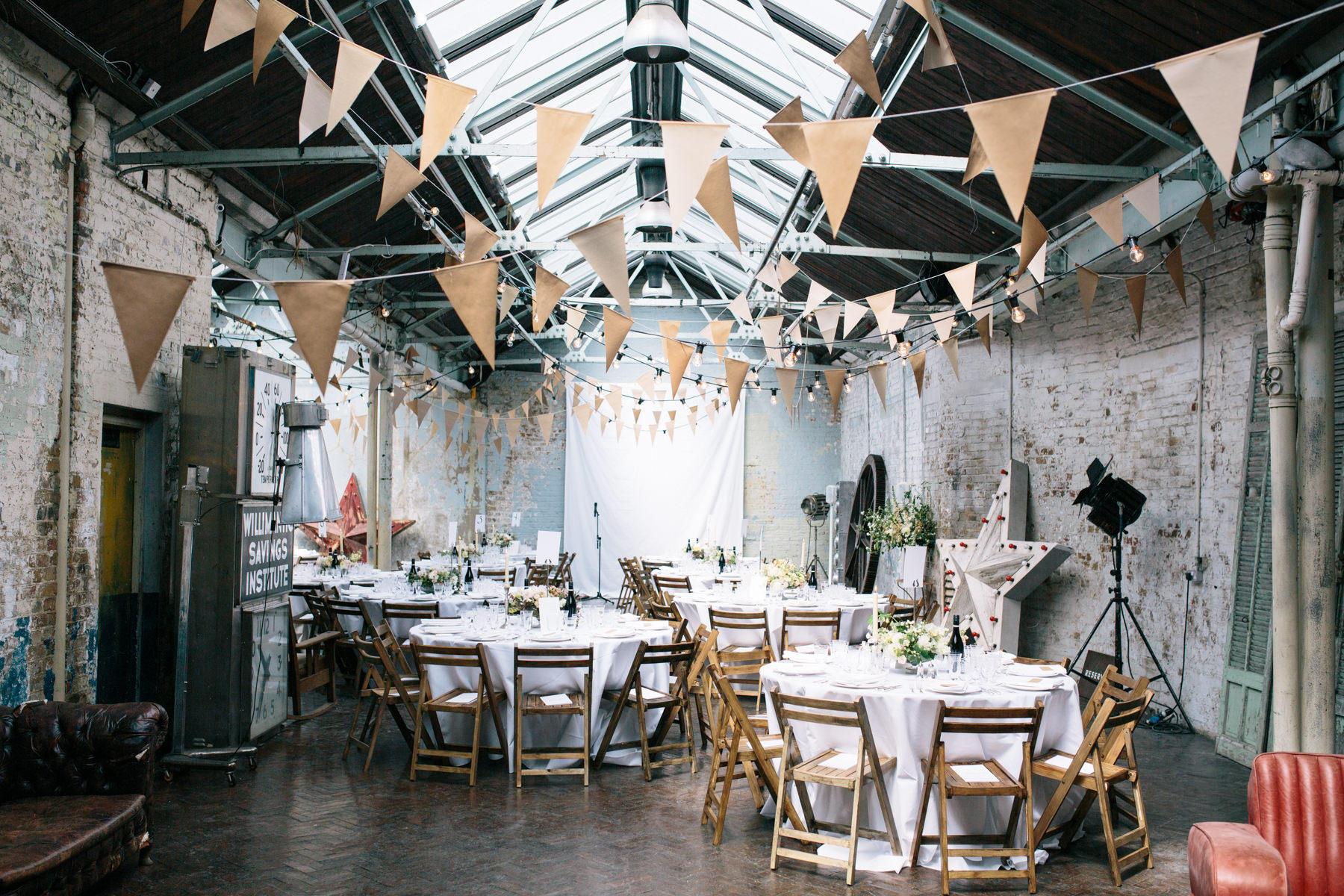 Urban chic wedding location ideas