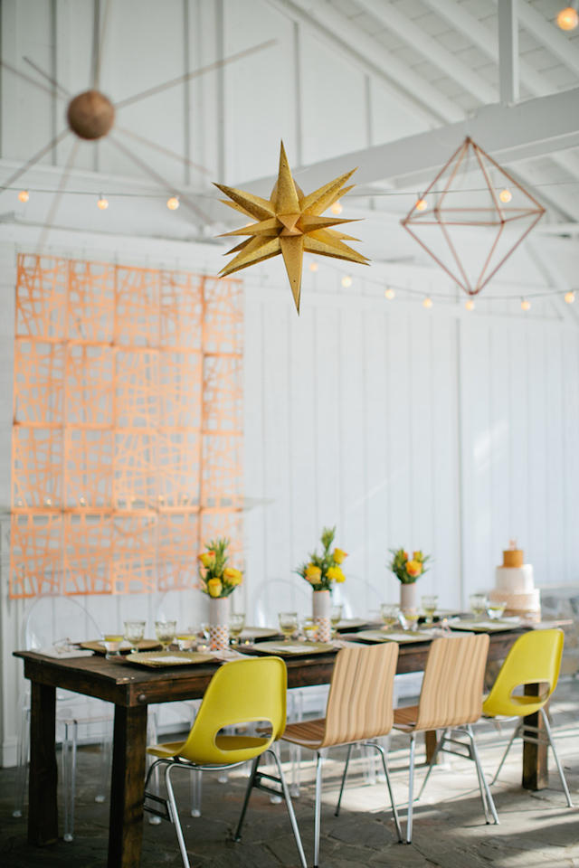 A Mustard Yellow Wedding Theme