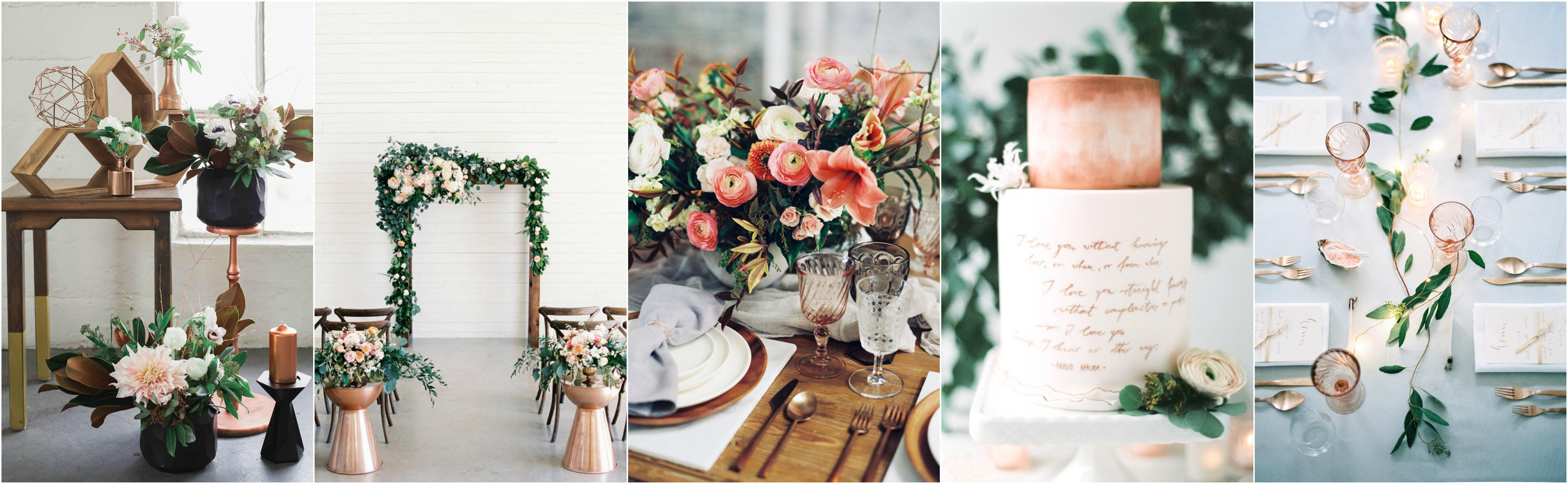 3 Spring Wedding Colour Schemes