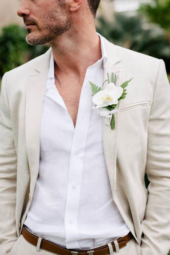 Groomswear Trends Linen Suit