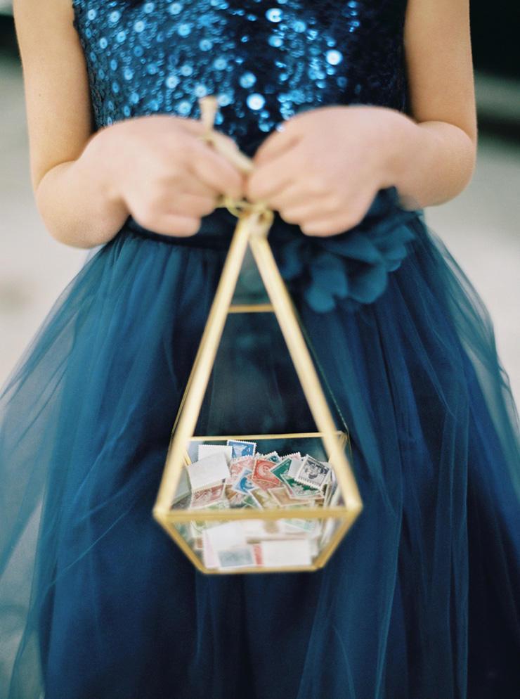 Bridesmaid dark blue