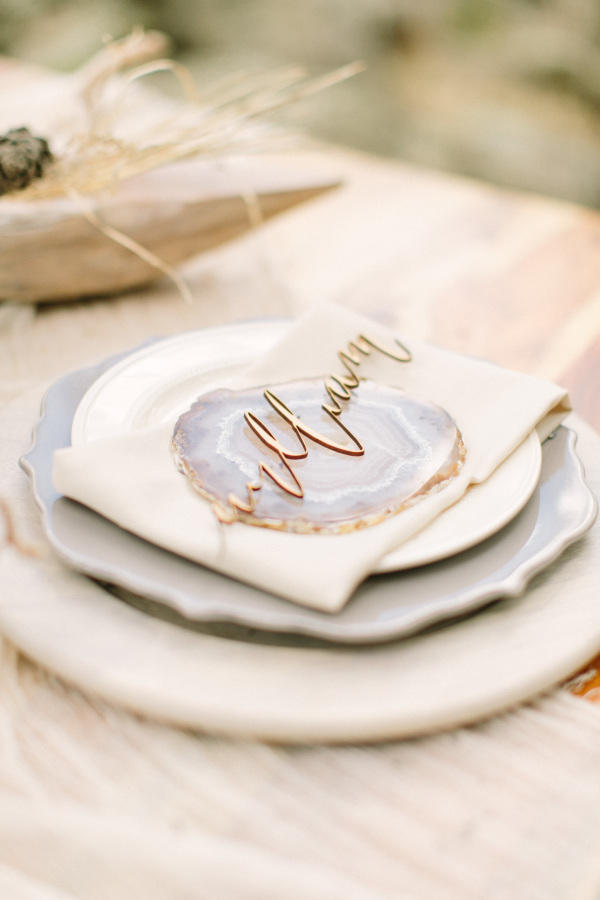 marble wedding trend table styling ideas