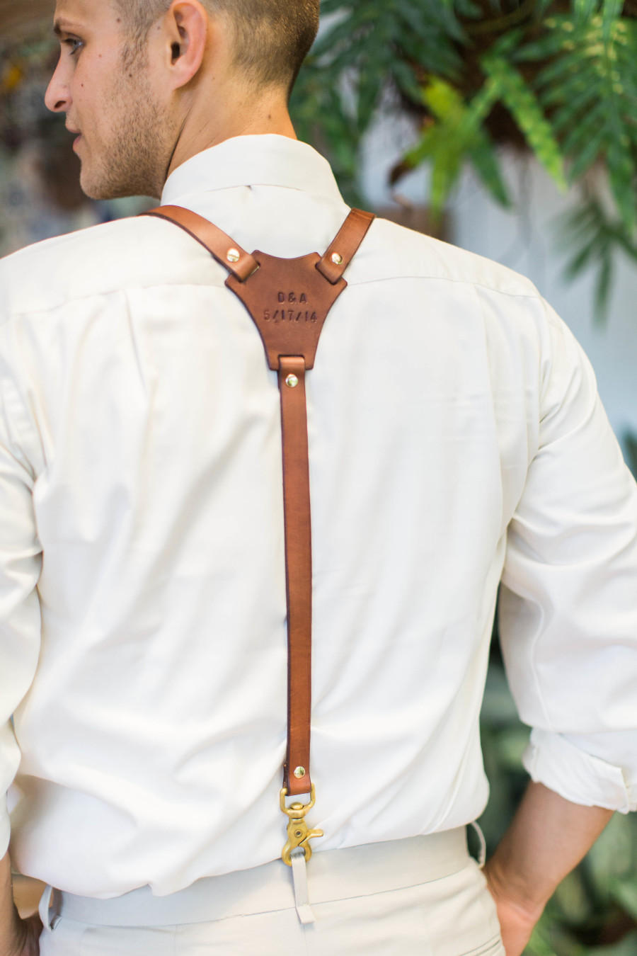 Groomsmen trends hipster braces