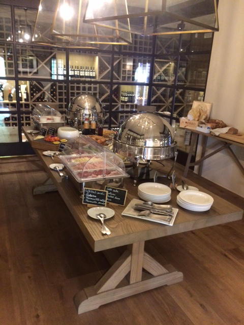 Il Borro wedding servery