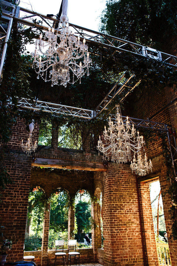 Edgy Lighting Ideas for Your Wedding Chandeliers
